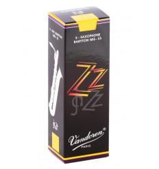 Boite de 10 anches Vandoren Traditionnelles force 2,5 pour Clarinette Sib