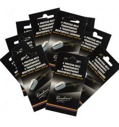 Sachet de 6 pastilles protège-becs transparentes, ép. 0,35 mm