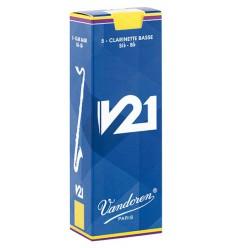 Vandoren V21 Bass-Klarinetten Blätter - 5 Einheiten
