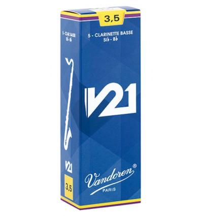 Vandoren V21 B-Klarinetten Blätter - 10 Einheiten